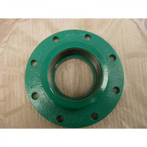 1.1250 in x 4.5938 in x 83 mm  1.1250 in x 4.5938 in x 83 mm  skf F2B 102-TF Ball bearing oval flanged units #1 image