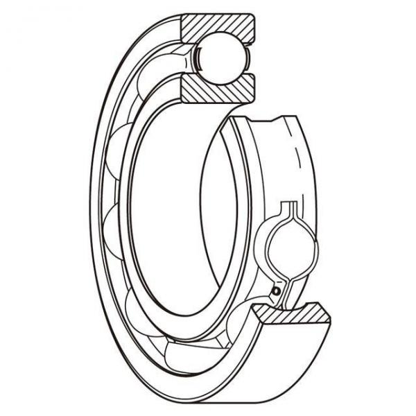 1.0000 in x 2.7500 in x 95 mm  1.0000 in x 2.7500 in x 95 mm  skf F4B 100-FM Ball bearing square flanged units #2 image